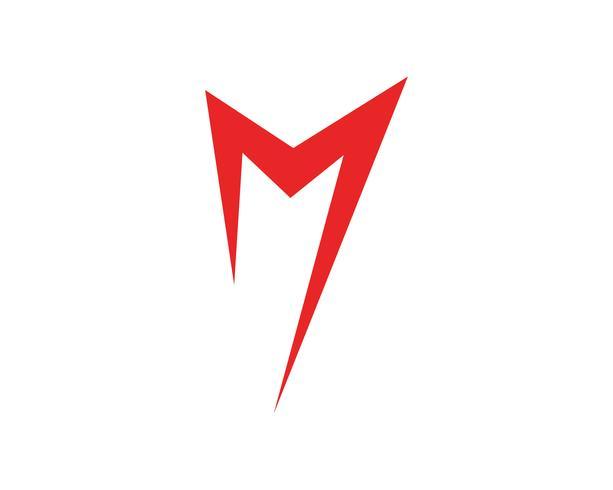 M vektorikoner sådan logosmall vektor
