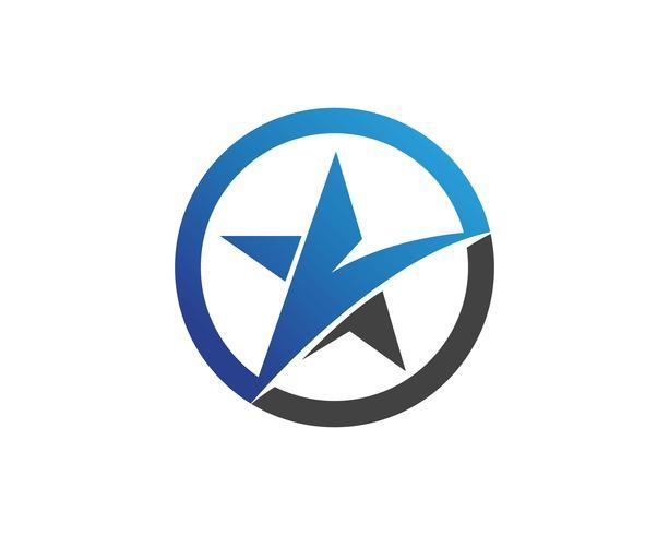 Star Falcon Logo Mall vektor ikoner app