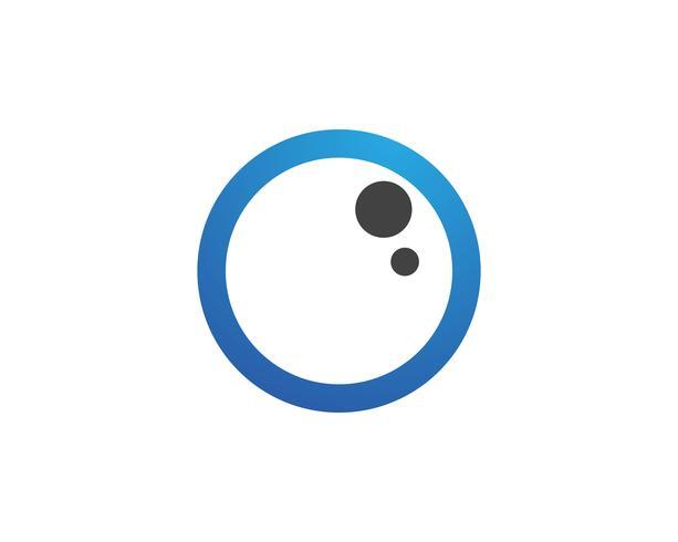 Augenpflegelogo und Symbolschablonenvektor-Ikonen-APP vektor