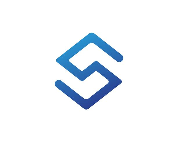S-logotyp och symbolmall vektorikoner vektor