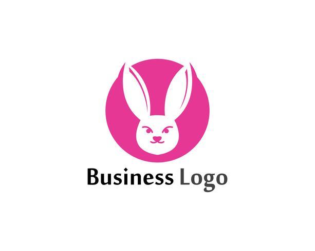 Kanin Logo mall vektor ikon design mall app