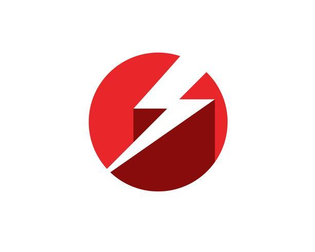 blixtikon logo och symboler Mall vektor, vektor