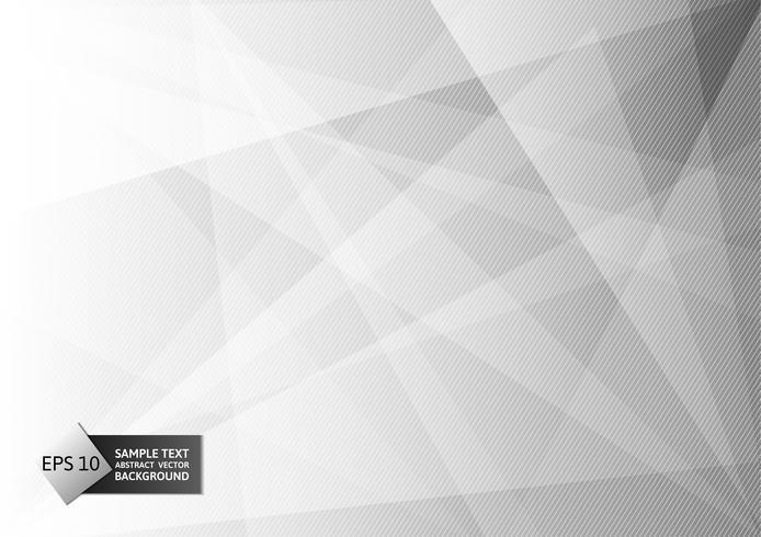 Abstrakte geometrische graue und weiße Farbe, Hintergrund des modernen Designs mit Kopienraum, Vektorillustration eps10 vektor
