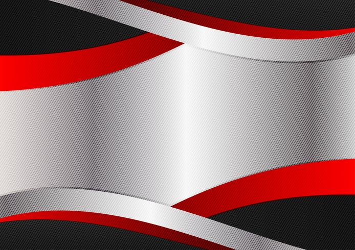 Silver röd och svart färg grafik design. Vektor geometrisk abstrakt bakgrund med kopia utrymme