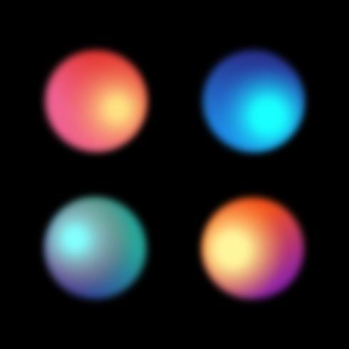 Farbunschärfe Farbverlauf Hintergrund vektor