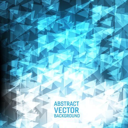 Hellblauer vektorgeometrischer abstrakter Hintergrund. Neues polygonales Beschaffenheitshintergrunddesign für Ihr Geschäft. vektor