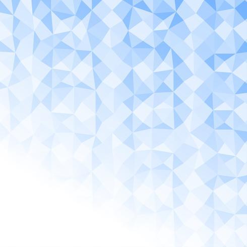 Hellblauer Polygonzusammenfassungshintergrund. Vektorbeschaffenheit geometrisch mit Kopienraum vektor