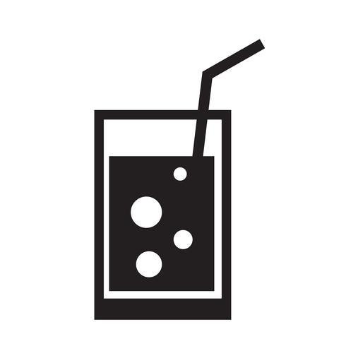 Trinken Sie Symbol Vektor-Illustration vektor