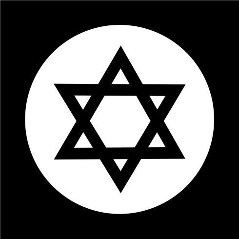 Star David-Symbol vektor