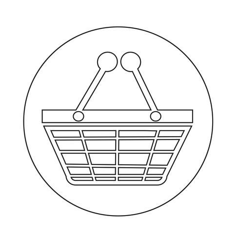 Einkaufs-Symbol vektor
