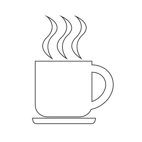 Getränk Symbol Vektor-Illustration vektor