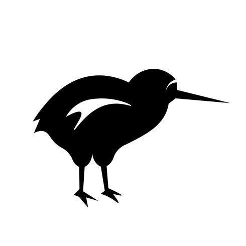 kiwi ikon vektor