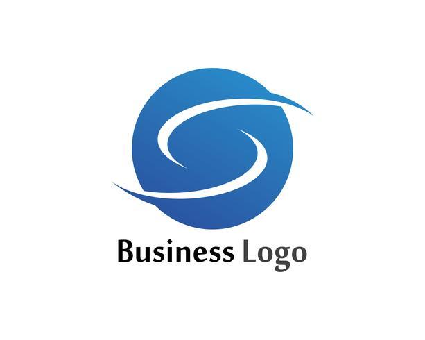 S Flash-logotyp och symbolmall vektorikoner vektor