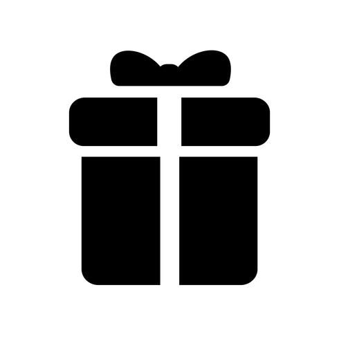 Present ikon vektor