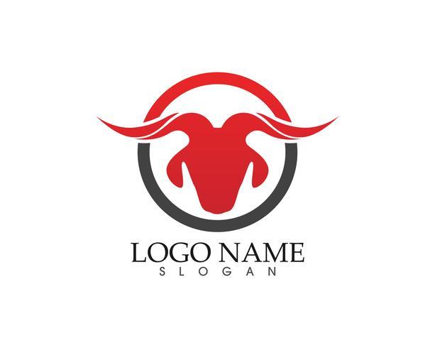 get horn logo och symboler mall ikoner app vektor