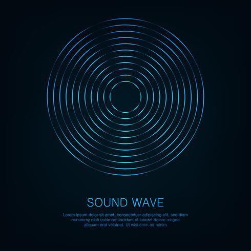 Abstrakt digital equalizer, Kreativ design ljudvåg mönster element bakgrund. vektor