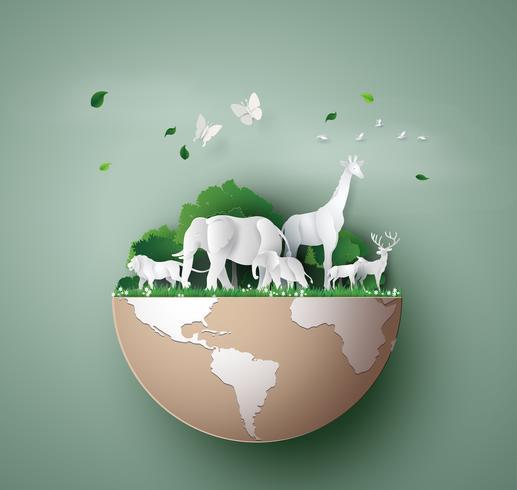 World Wildlife Day vektor