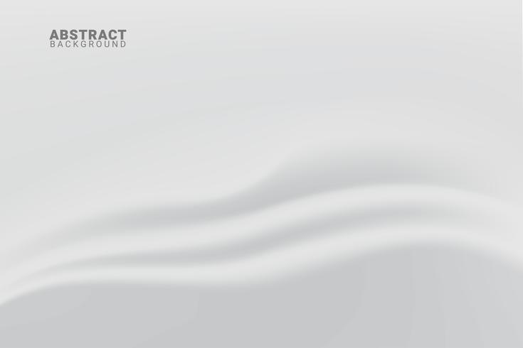 Abstrakter weißer und grauer Hintergrund. vektor