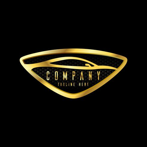 moderne Auto-Embleme, Abzeichen-Logo-Design-Vorlage für Autoservice, Reifenservice, Waschen und Detaillieren. vektor
