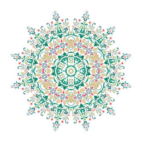 Mandala, Vektor-Mandala, Blumenmandala, Blumenmandala, Orienta vektor