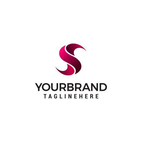 Buchstabe S Logo Vektor, Symbol S abstrakt Logo Vorlage Vektor