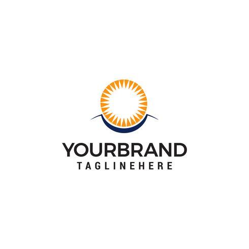 Sun Eye Vector Logo Design Mall