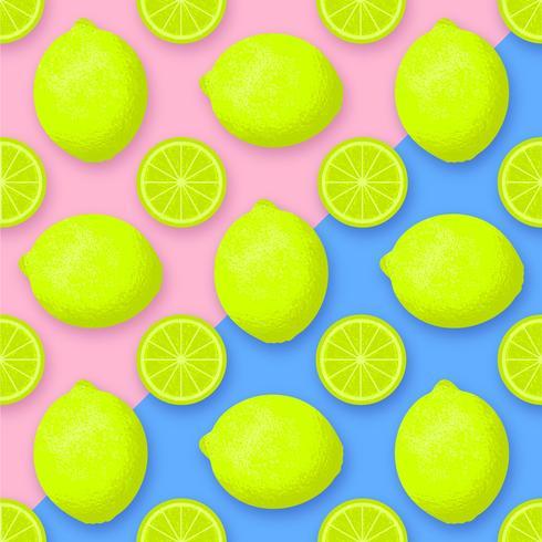 Kalk-Frucht-Vektor-Hintergrund vektor