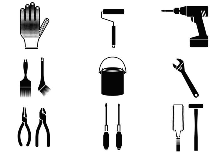 Startseite Werkzeug Vektor Pack