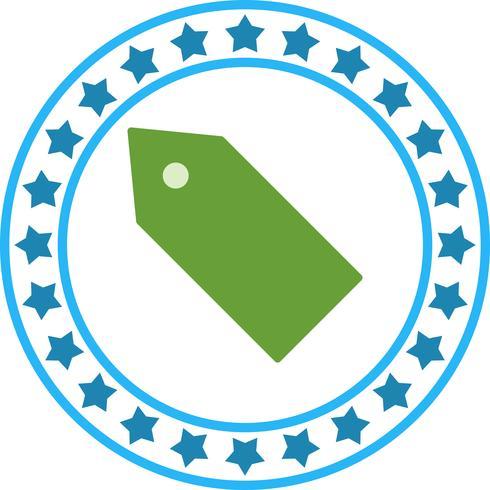 Vektor-Tag-Symbol vektor
