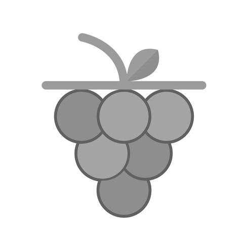Vektor-Trauben-Symbol vektor