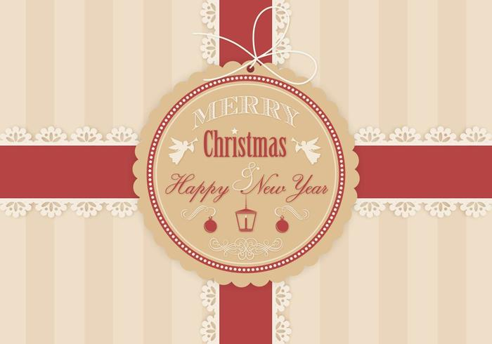 Weihnachtsgeschenk-Hintergrund-Vektor vektor