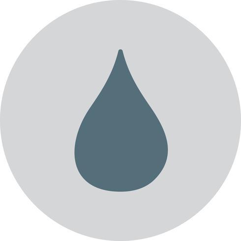 Vektor-Drop-Symbol vektor
