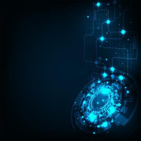 Moderne Telekommunikationssysteme sind einfach zu kommunizieren. vektor