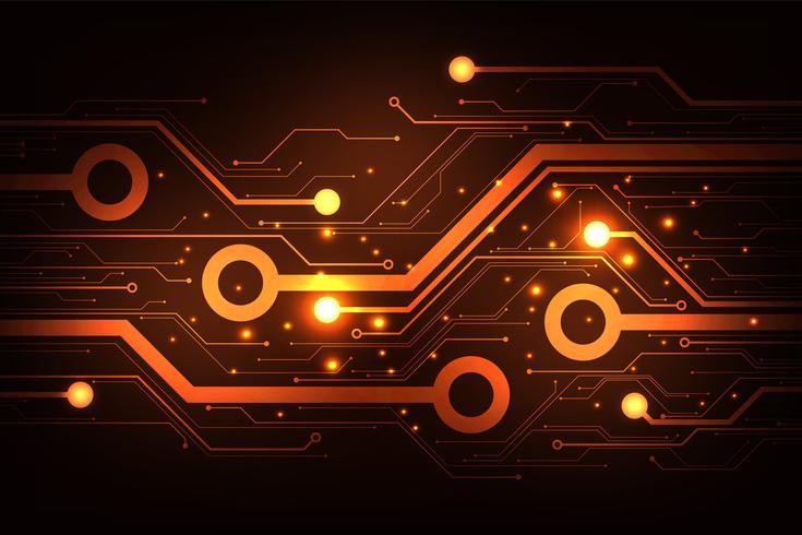Das Design elektronischer Schaltungen ist komplex. vektor