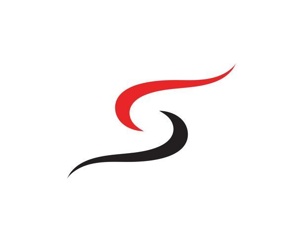 S Logo und Symbolschablonenvektor vektor