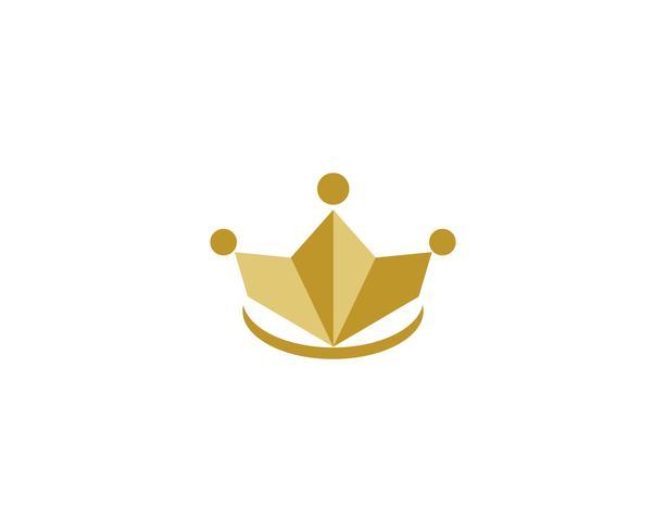 guldkronans logotypvektorer vektor