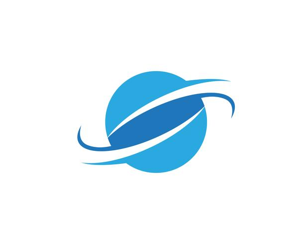 Globe illustration logotyp vektor mall