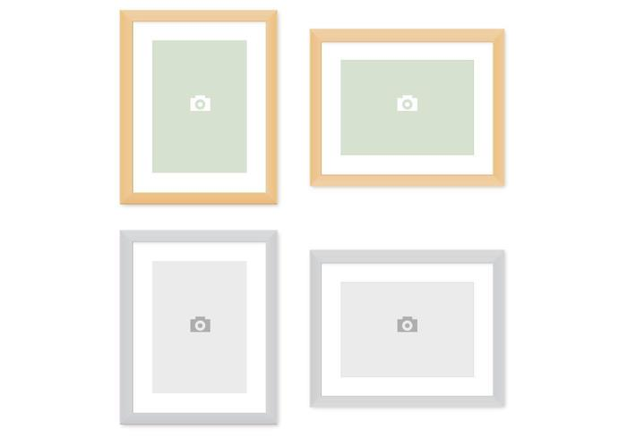 Moderne Bilderrahmen Vector Pack