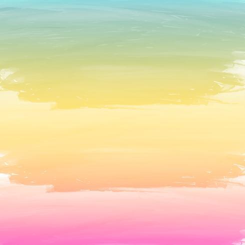 akvarell bakgrund med pastellfärg vektor