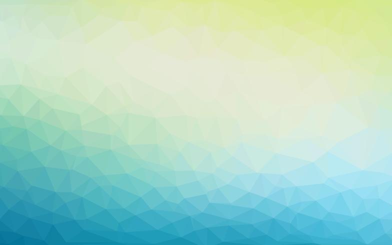 Abstrakter bunter niedriger Polyvektor-Hintergrund mit futuristischem Muster der kühlen Steigung. vektor