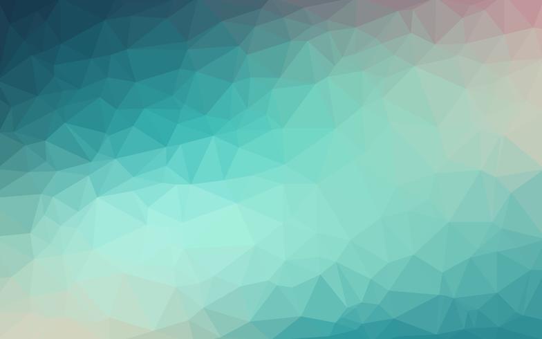 Hellblauer Vektor Niedriger Polykristallhintergrund. Polygon Design pa