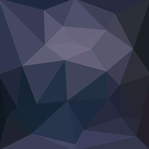 Hellpurpurner dunkler Vektor Niedriger Polykristallhintergrund. Polygon de