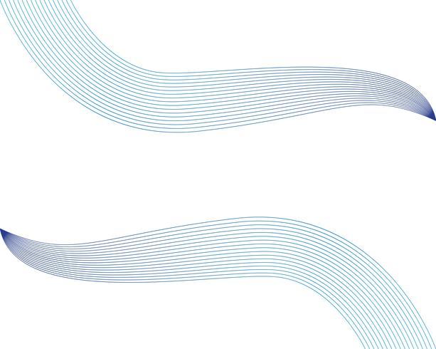 Wellenlinie abstrack Hintergrundvektoren vektor