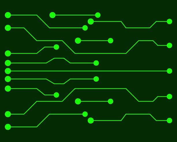 Vektorleiterplatteillustration EPS10 vektor