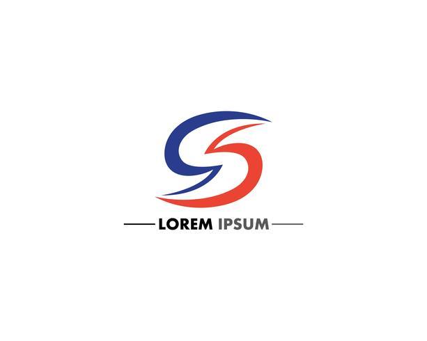 S Brief Logo und Symbol Design Vektoren