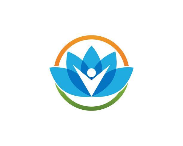 Beauty Vector Lotus-Symbol