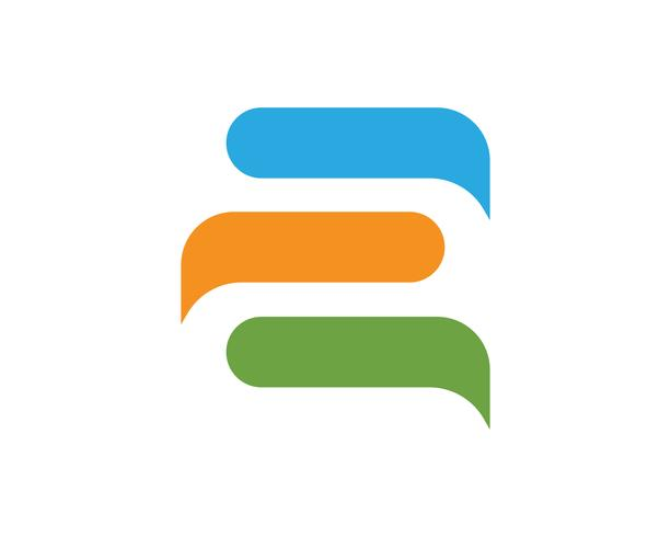 Speech bubble chat icon Logo mall vektor