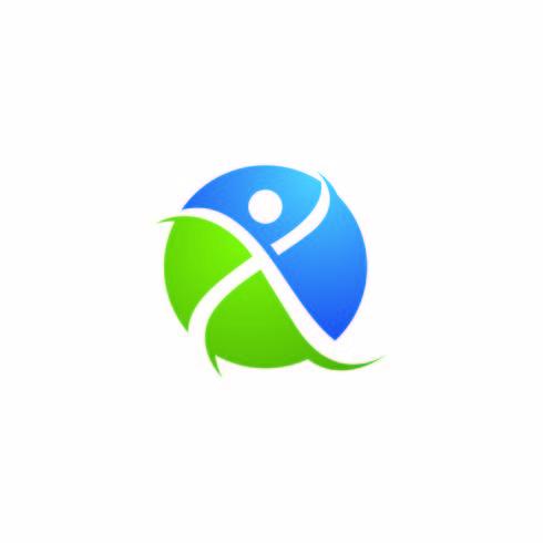 Menschliches Zeichen Logo Zeichen vektor