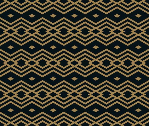 Det geometriska mönstret. Seamless vektor bakgrund.