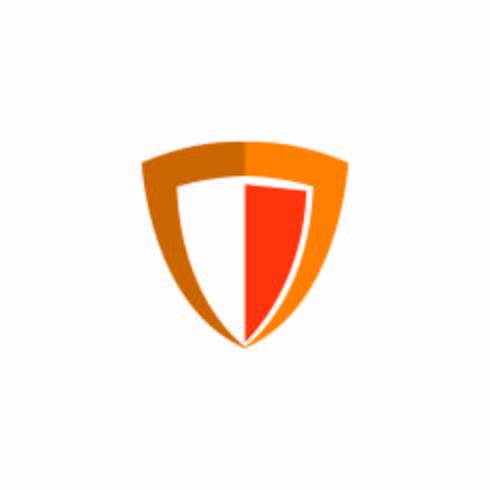 Sköld logotyp mall vektor